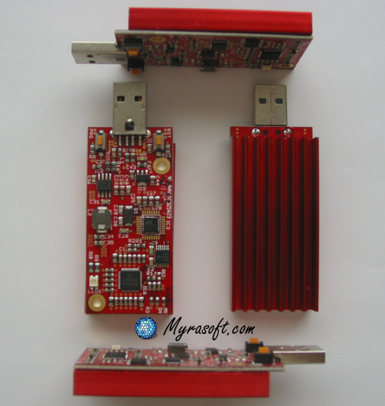 The Red Fury Bitcoin miner device is a fantastic item for bitcoin enthusiasts.